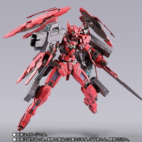 METAL BUILD ガンダムアストレア TYPE-F (GN HEAVY WEAPON SET)【2次:2018年7月発送】
