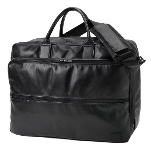 PORTER / PORTER TIME BLACK / 2WAY OVERNIGHT BRIEFCASE