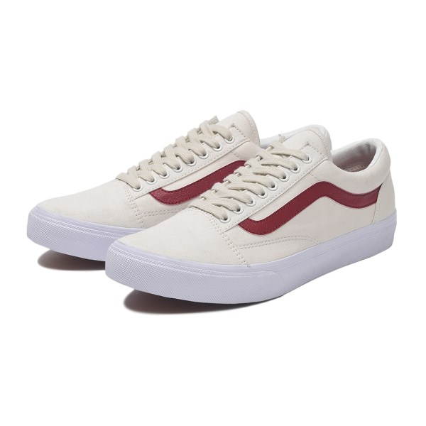 【VANS】OLD SKOOL DX ヴァンズ オールドスクール DX V36CL+ CVS 18FA W.WHITE/RED