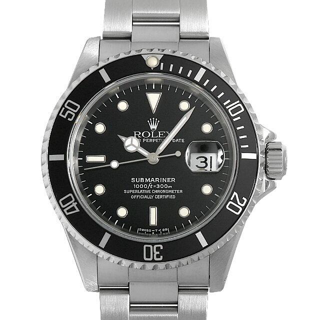 【48回払いまで無金利】ロレックス サブマリーナ デイト 16610 X番 メンズ(0WSBROAU0001)【中古】【腕時計】【送料無料】