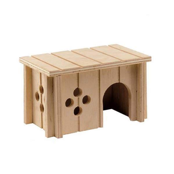 ファープラスト 小動物用 木製ハウス SIN 4641 ハムスター ferplast 関東当日便