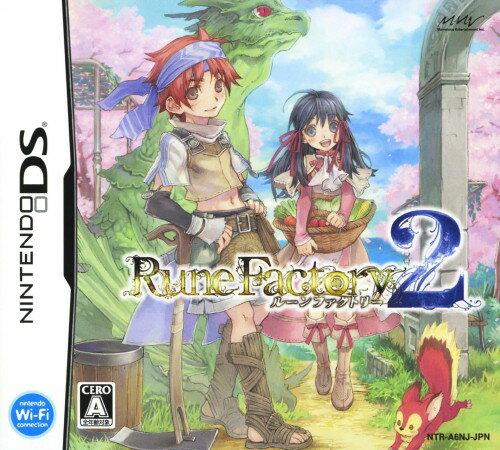 【中古】ルーンファクトリー2ソフト:ニンテンドーDSソフト/シミュレーション・ゲーム