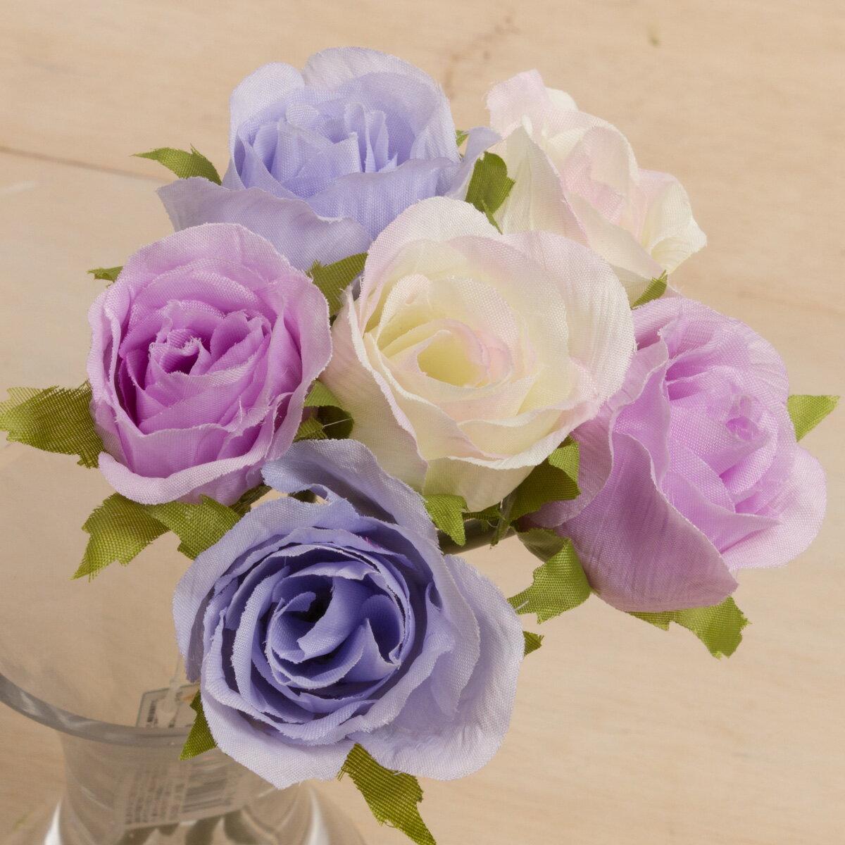 即日 【造花】YDM/ローズバンチ ラベンダーピンク/FB2305-LAP