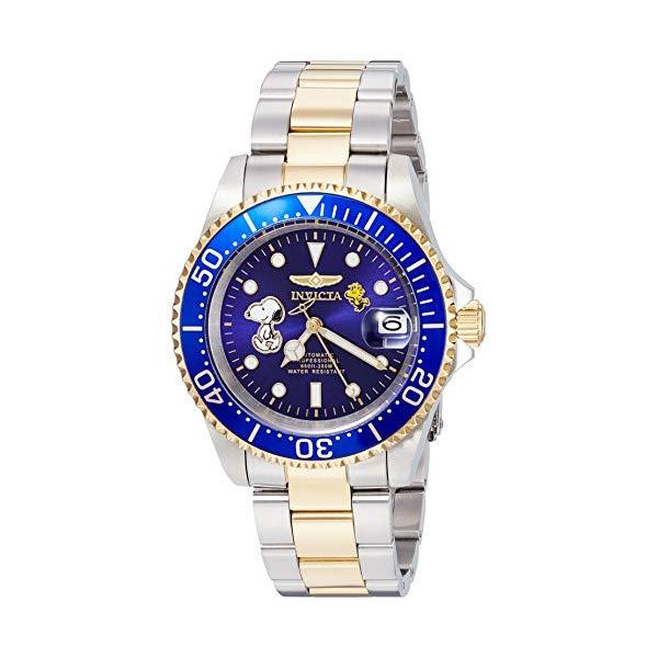 インビクタ 腕時計 INVICTA インヴィクタ 時計 スヌーピー Invicta Men's Automatic Stainless Steel Casual Watch,...