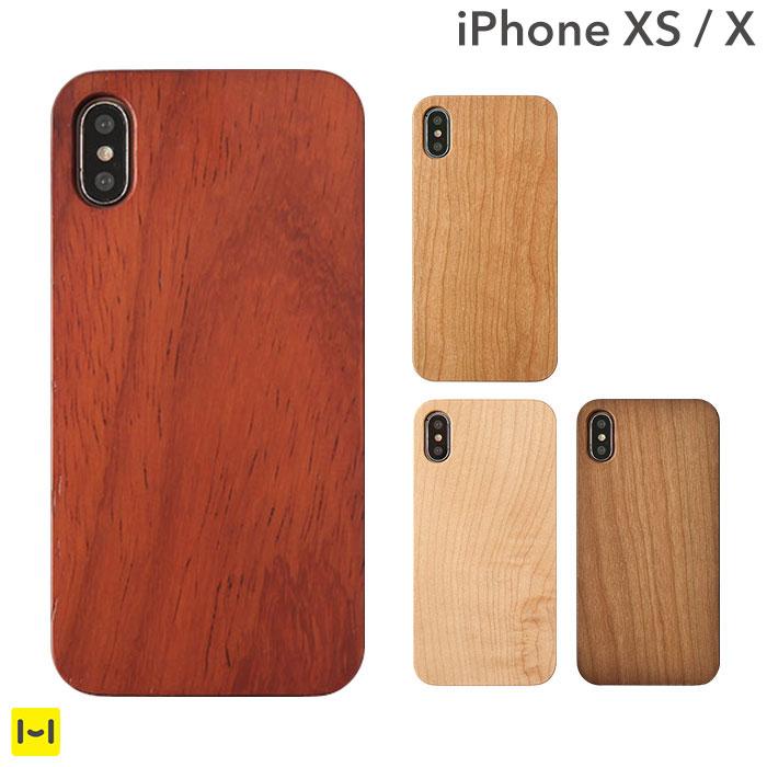 iphone x iphone xs ケース ナチュラルウッド ハードケース 【 スマホケース iPhoneX アイフォンX アイフォンXs iphone xs iPhone...