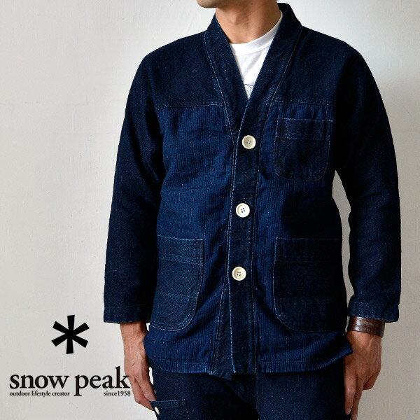 snow peak スノーピーク Noragi Jacket ノラギジャケット アウター ウェア 防寒 メンズ アウトドア 着物襟 日本製 岡山 エイジング