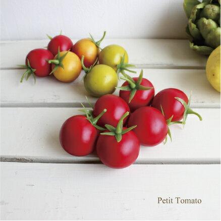 プチトマト 6ヶ入 Vegetable 造花 野菜 フルーツ インテリア 雑貨 ディスプレイ用食品サンプル