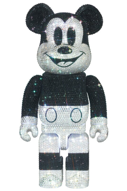 CRYSTAL DECORATE MICKEY MOUSE BE@RBRICK 400%《2020年12月より順次発送予定》
