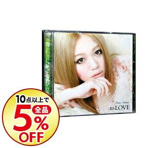 【中古】【CD+DVD】to LOVE 初回限定盤 / 西野カナ