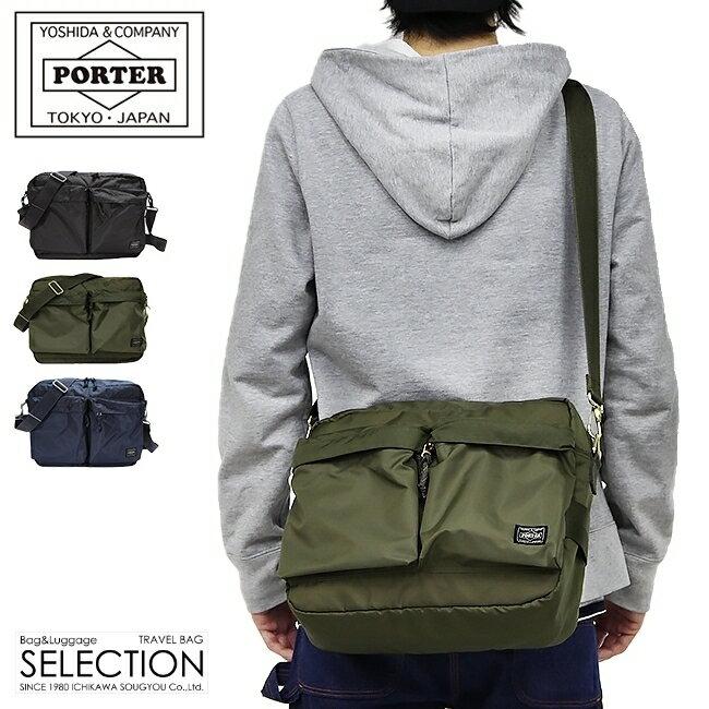 吉田カバン ポーター フォース ショルダーバッグ メンズ ミリタリー A4 PORTER 855-07415