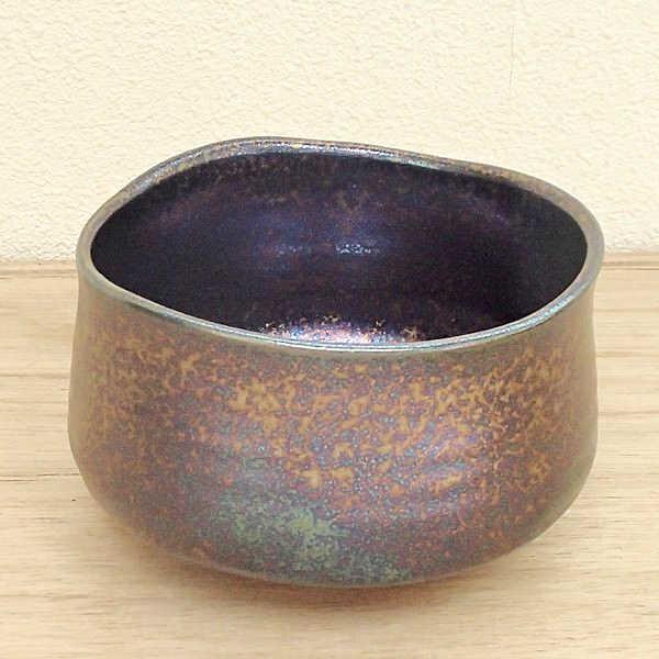 抹茶茶碗 虹彩美濃焼 陶器 抹茶碗 茶道具 御茶道具 茶器
