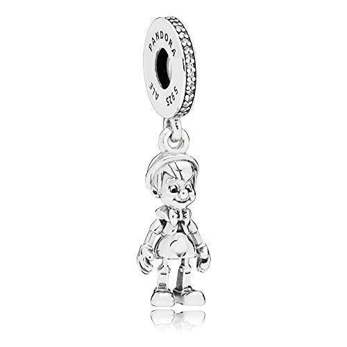 パンドラ ブレスレット アクセサリー ブランド かわいい 【送料無料】PANDORA Disney Pinocchio Dangle Sterling Silver Char...