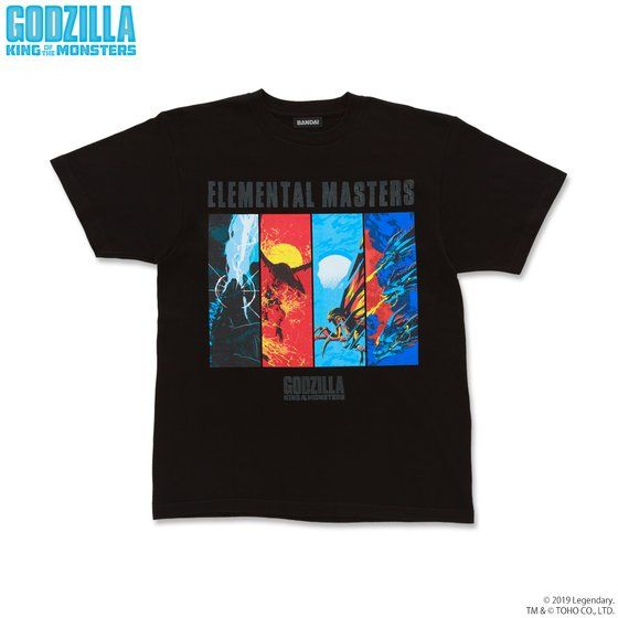 GODZILLA King of the Monsters Tシャツ 8種