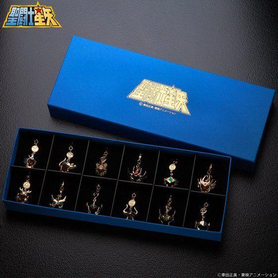 聖闘士星矢 黄金聖闘士(ゴールドセイント)アクセサリーチャームセット(2020年3月お届け)