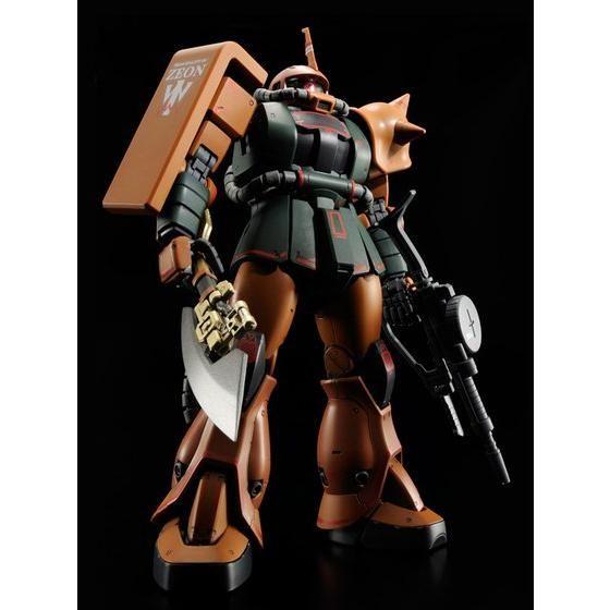 MG 1/100 MS-06FS ガルマ・ザビ専用 ザクII 【再販】