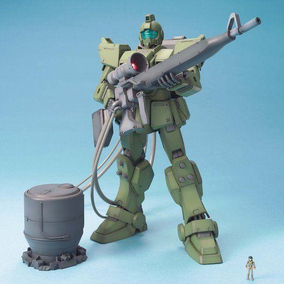 MG 1/100 ジムスナイパー