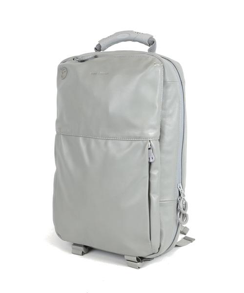 防水レザーバックパック【BROSKI AND SUPPLY/ブロスキーアンドサプライ】HUB LIMITED / waterproof leather backpack