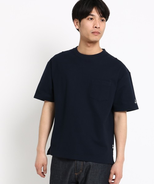 吸水速乾 Tシャツ 星 ビッグシルエット 40/2 カノコ