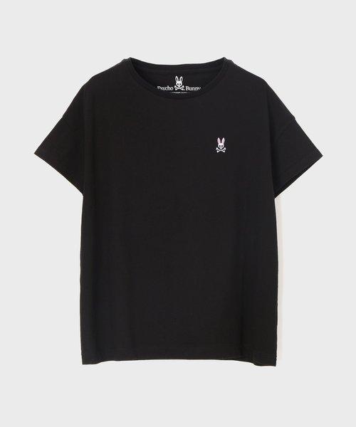 ドロップショルダー フレンチスリーブTシャツ