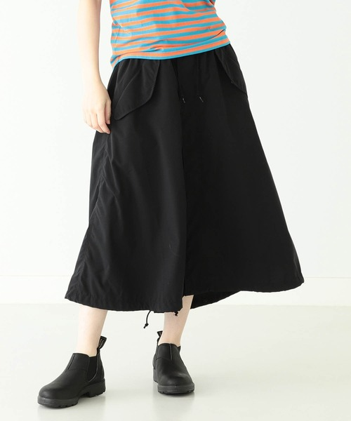 BEAMS BOY / ソロテックス M-65 ロング スカート