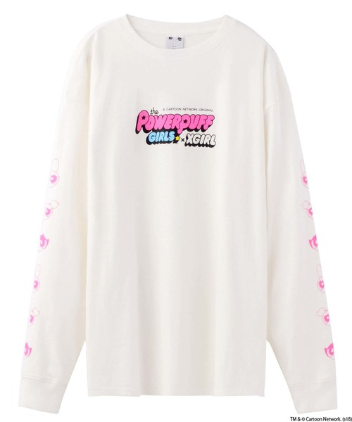 【WEB限定】X-girl x PPG L/S TEE