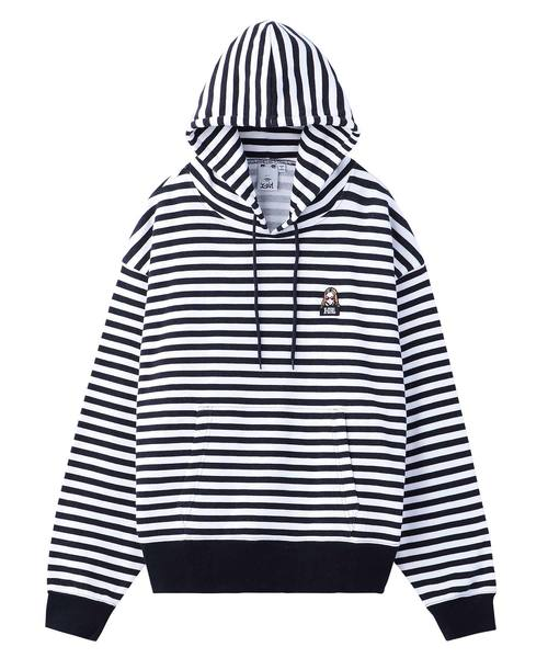 STRIPED SWEAT HOODIE