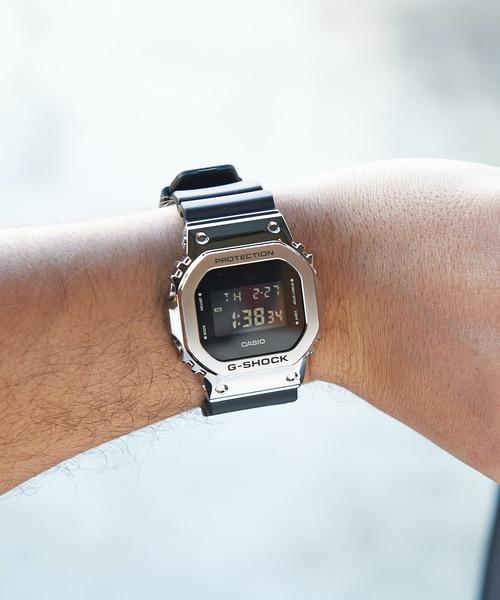 G-SHOCK GM-5600-1JF (ジーショック )(シルバー)(Men's)(腕時計)
