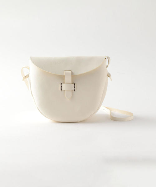 <Frank&Easy>LEATHER SHOULDER BAG SMALL/ショルダーバッグ
