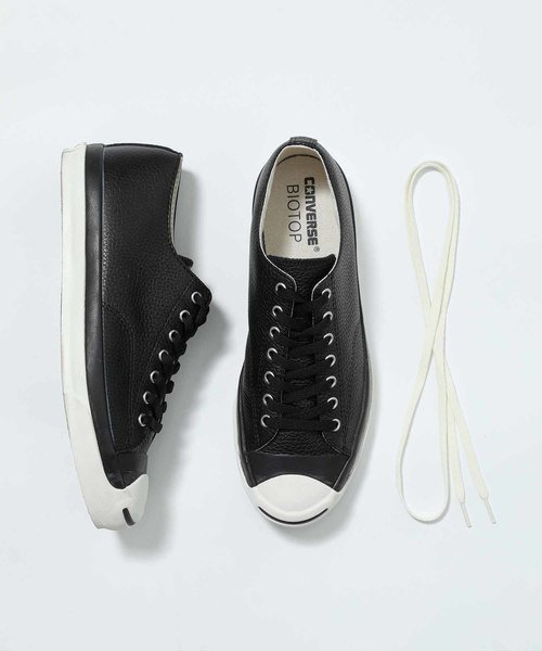 【CONVERSE×BIOTOP】JACK PURCELL RET LEATHER EXCLUSIVE