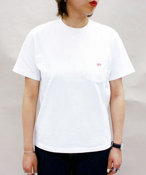 DANTON(ダントン)LOGO TーShirt/ロゴTシャツ