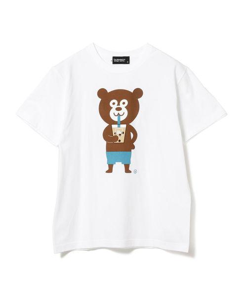 The Wonderful! design works. / タピオカ Bear Tee