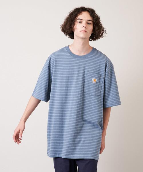 [Carhartt カーハート] SHORT SLEEVE WORKWEAR POCKET T-SHIRT ポケット付きTシャツ