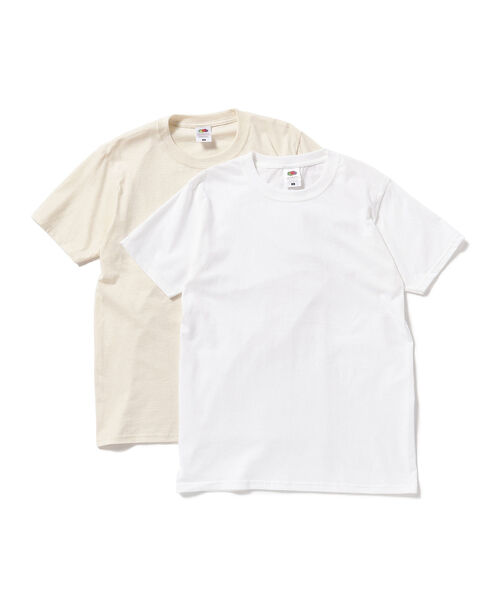 FRUIT OF THE LOOM×BEAMS BOY / 2pcs-T