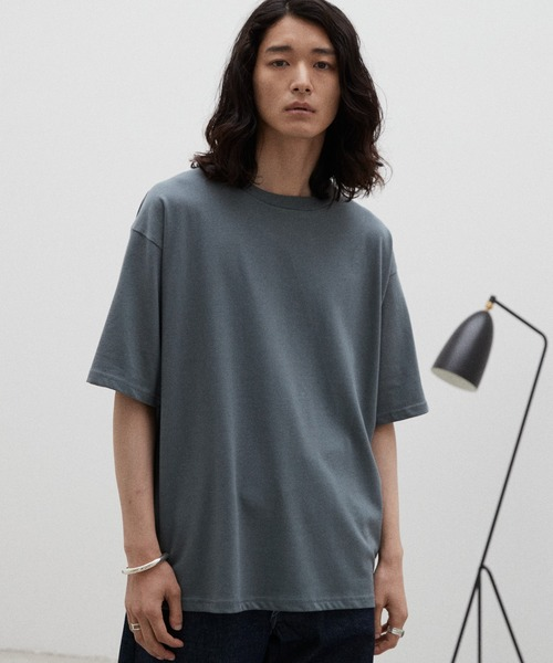 【WYM LIDNM】HEAVY WEIGHT BASIC BIG-TEE/カットソー