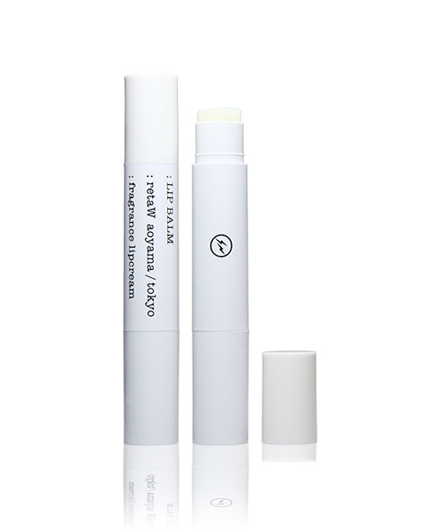 Fragrance Lip Balm retaW × Fragment Design WHITE