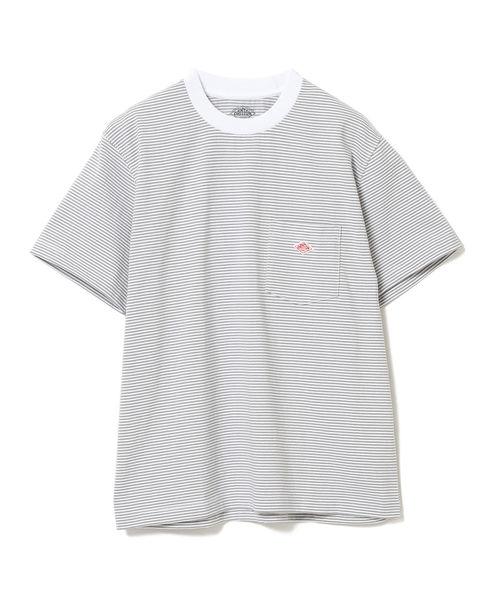 DANTON / ポケット Tシャツ