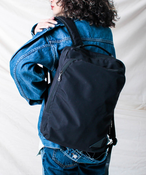 ADAM PATEK/【Alamo】BREATHATEC Square Backpack