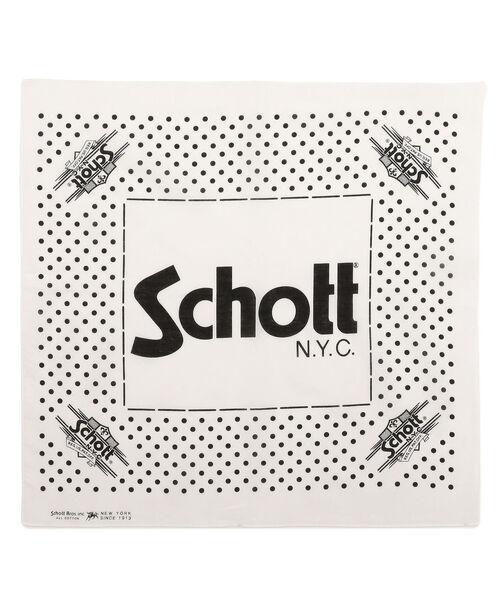 schott / Schott/ショット/COTTON BANDANA P (30335345)