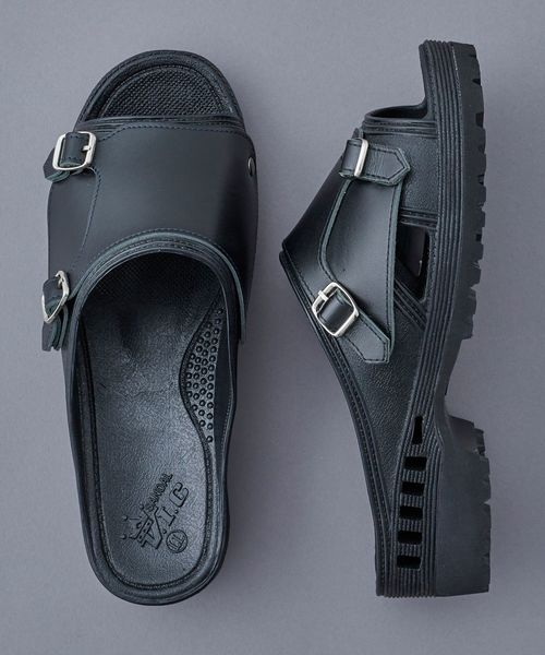 【CANNABIS別注】bench BENSAN-D DOUBLE MONK With Vibram Sole (BE-CB02)