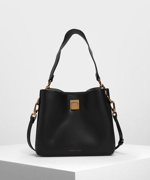 バックルクラシック ショルダーバック / Buckle Classic Shoulder Bag