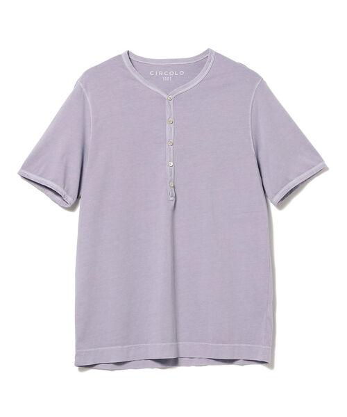 ◎CIRCOLO1901 / ヘンリーネック Tシャツ