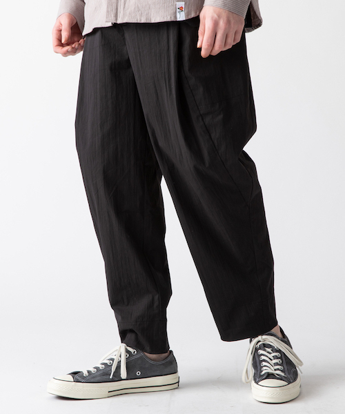 rehacer : Bulky Wide Paper Pants / バルキー ワイド ペーパー パンツ