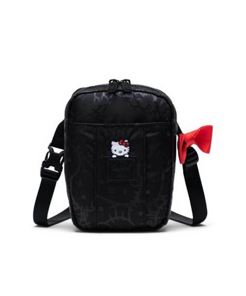 Cruz Crossbody | Hello Kitty / Black ハローキティ 0.5L