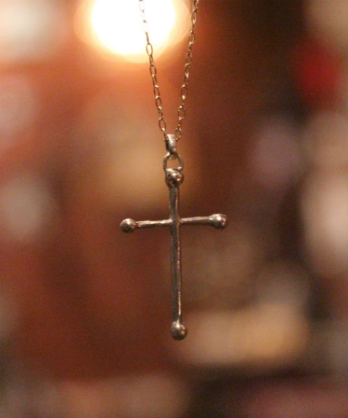 [Hasek / ハシェック] クロスネックレス - 'southern cross'