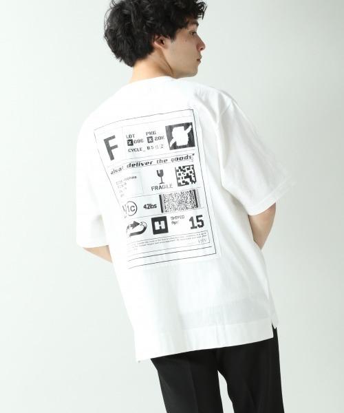 <USAコットン使用>デザインプリントTシャツ/877749