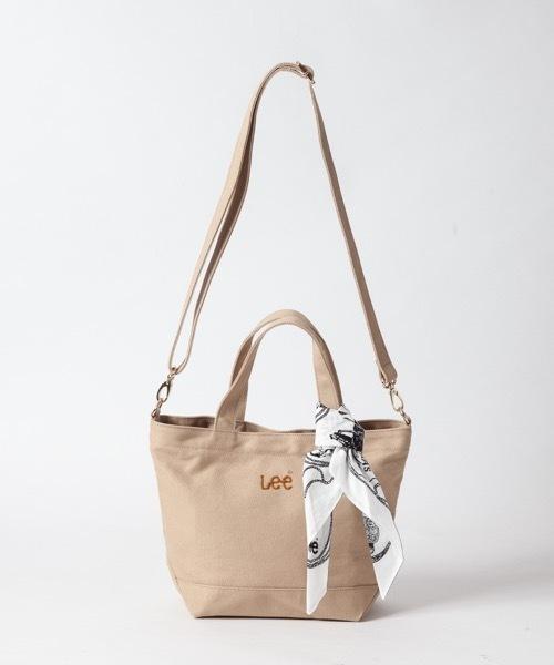 【Lee×SMIRNASLI】ポケットミニ キャンバス2WAYトートバッグ