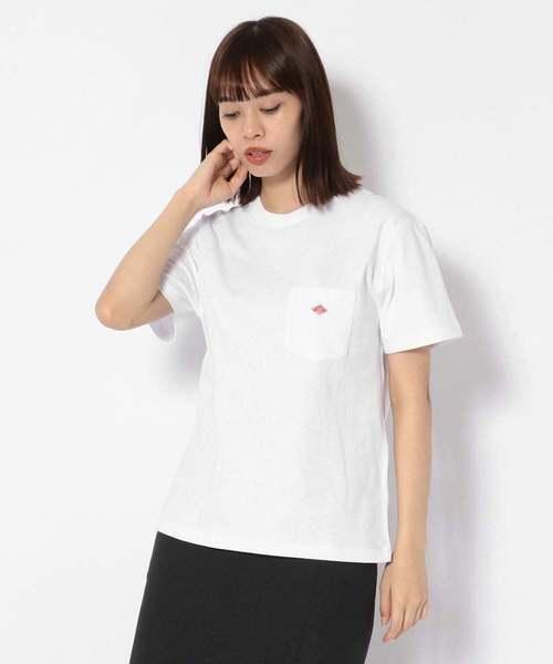 DANTON/ダントン/SOLID POCKET T-SHIRT/ポケットTシャツ/JD-9041-9S-2