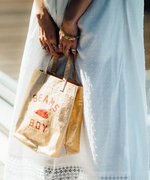 BEAMS BOY / BBロゴ ショップバッグ