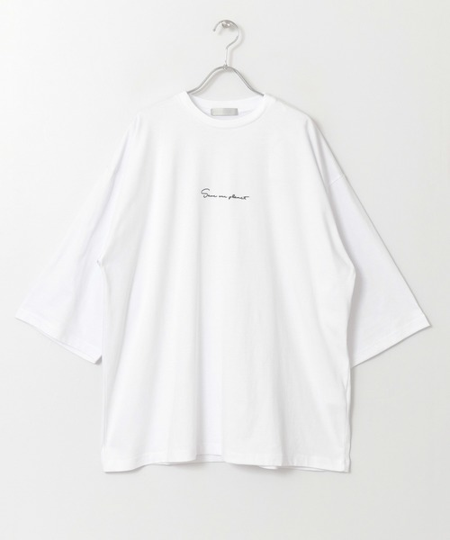 UR TECHエクストラルーズロゴTシャツ A