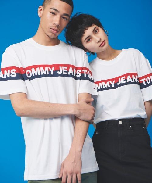 【オンライン限定】ストライプロゴ Tシャツ